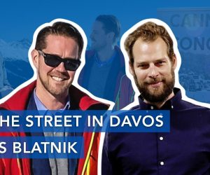 On the Street in Davos with Boris Blatnik